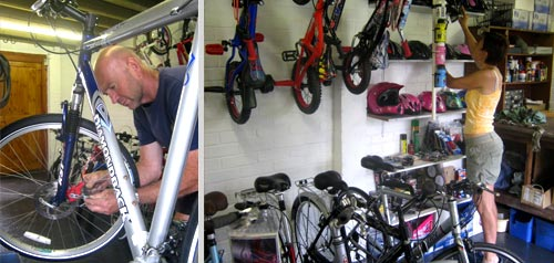 andy's cycles chelmsford workshop
